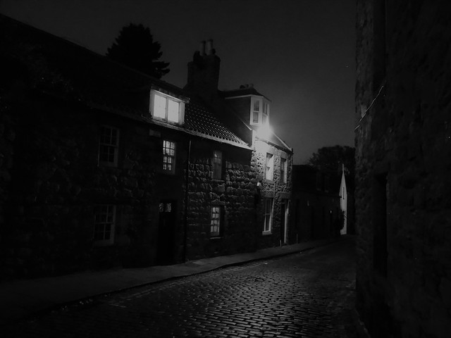 Old Aberdeen by night