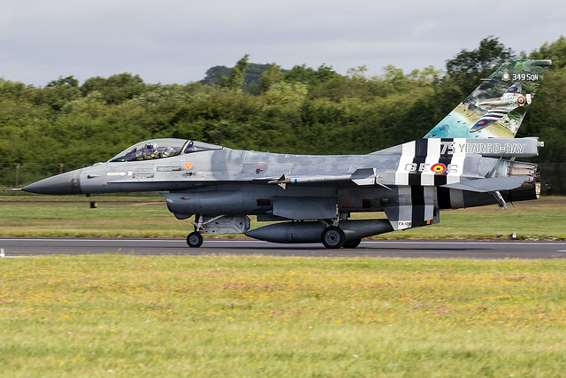 FA-124 / Belgian Air Component / General Dynamics F-16AM Fighting Falcon