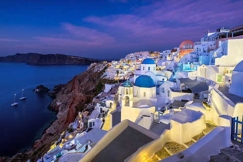 Blue Domes    Cúpulas Azules (Oia, Santorini. Greece)