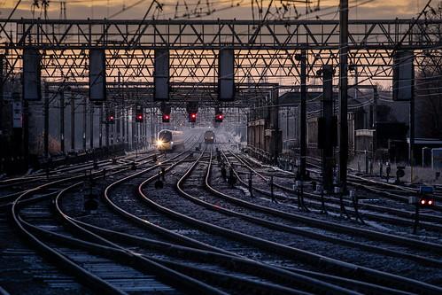 preston dawn frost pendolino northern class319 virgin trains 1z10