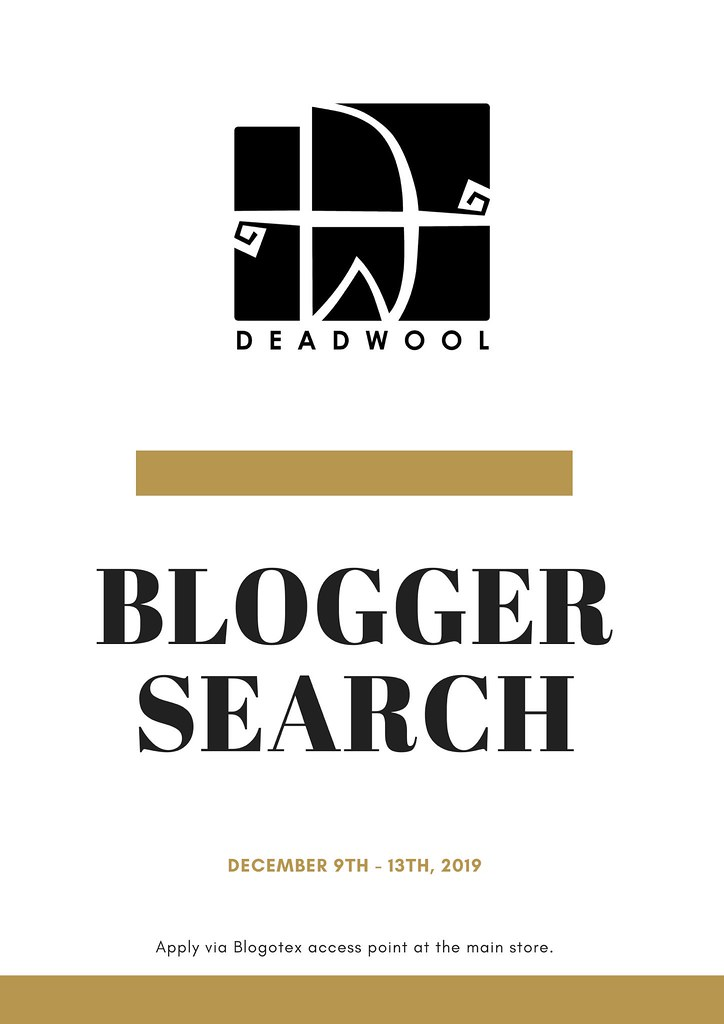 [Deadwool] Blogger Search 2020