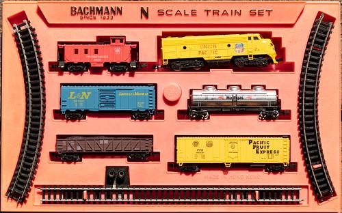 Bachmann N Scale Train Set (342/365)