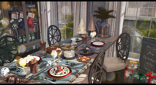 A Christmas style lunch | by :Kurimu-Kuma: