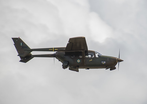 Cesssna O-2 Skymaster in Nigerian Colors