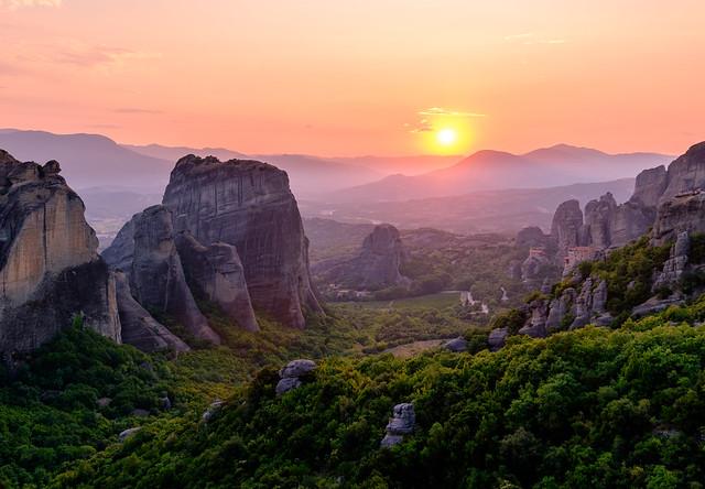 The magic of Meteora, Greece