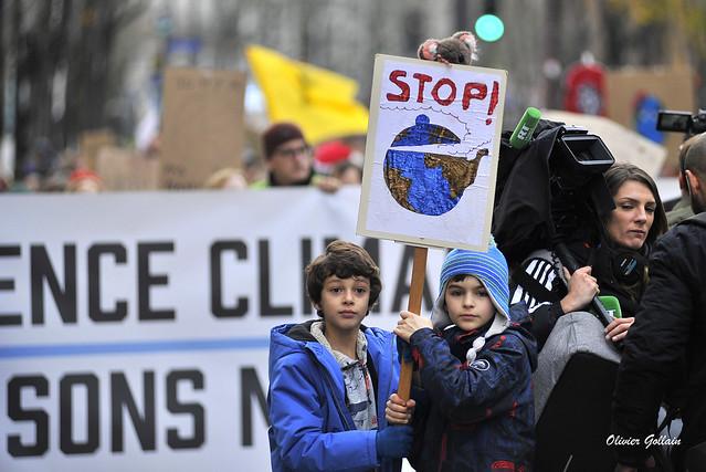 Marche pour le climat, la paix, liberté égalité et adelphité