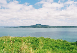Rangitoto from Browns Island