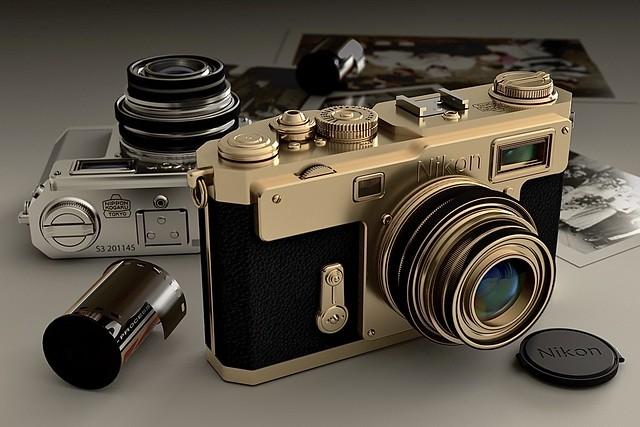 Rendered using Arnold - Nikon S3