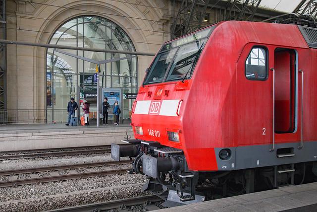 DB Regio 146 011 Dresden Hbf