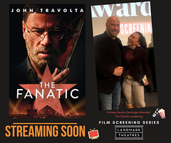 Sandra Santiago attending to film screening The Fanatic John Travolta at the Landmark Theater Los Angeles