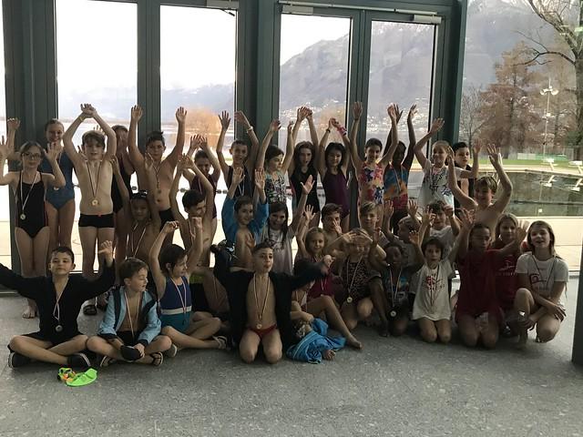 Nuoto: Gara Lido Locarno 7 dicembre 2019