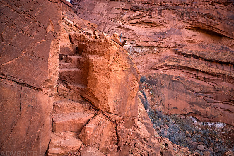 Sandstone Staircase