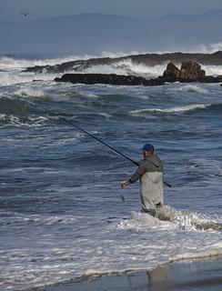 Fishing at Pescsadero