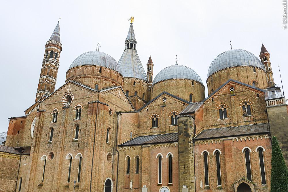 Pádova Itália Basílica De Santo Antonio De Pádua D Bertolli Flickr