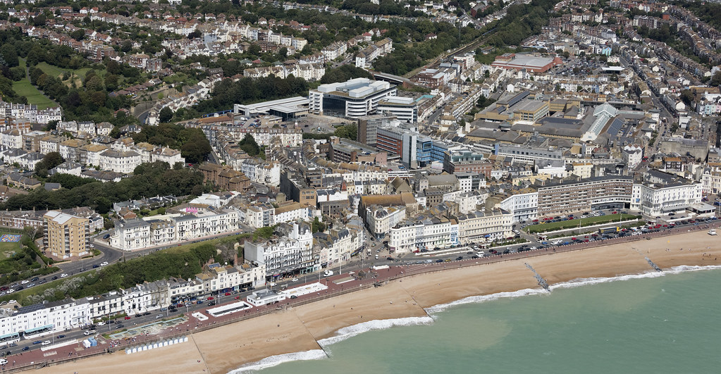 Hastings aerial image