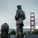 Lone Sailor at the Golden Gate