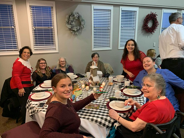Ladies Christmas Tea 2019