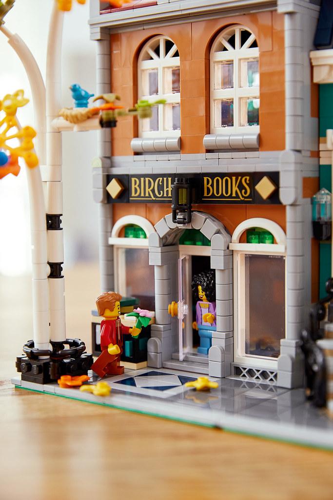 古典的歐式美學再來! LEGO 10270 創意系列【書店】Creator Expert Bookshop