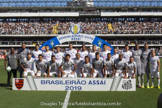 Santos 4 x 0 Flamengo