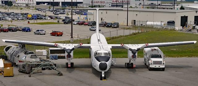 De Havilland Canada DHC-5A Buffalo STOL military transport, 1978 - Mount Hope, Ontario