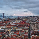 29. November 2019 - 19:26 - Lisbon in Portugal, as seen from São Jorge Castle. I was lucky to get some good light!