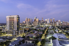 Drewery Place-Houston Skyline-Twilight-2019-Mabry Campbell