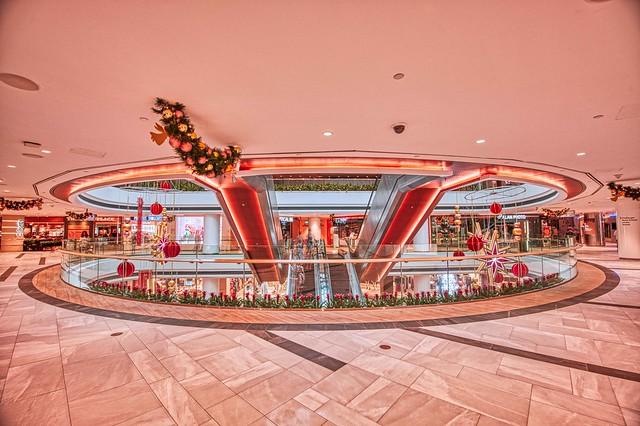 Christmas Decorations at Raffles City