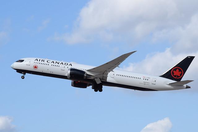 Air Canada B789, C-FNOG, TLV-YYZ