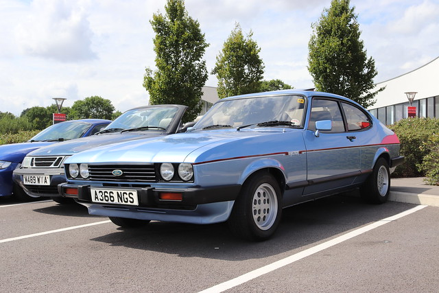 Ford Capri 2.8 Injection Special A366NGS