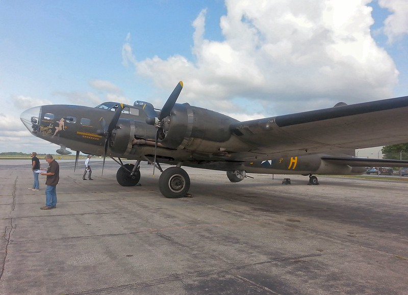 B-17F Flying Fortress Memphis Belle 3