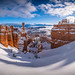 Snowy Hoodoos! Bryce Canyon National Park Winter Snow Fuji GFX100 Fine Art Landscape Nature Photography! Bryce Canyon NP Utah Winter Scenery! Elliot McGucken dx4/dt=ic Master Fine Art Medium Format Photographer!  Fujifilm Fujinon GF 23mm F/4 R Lm Wr Lens