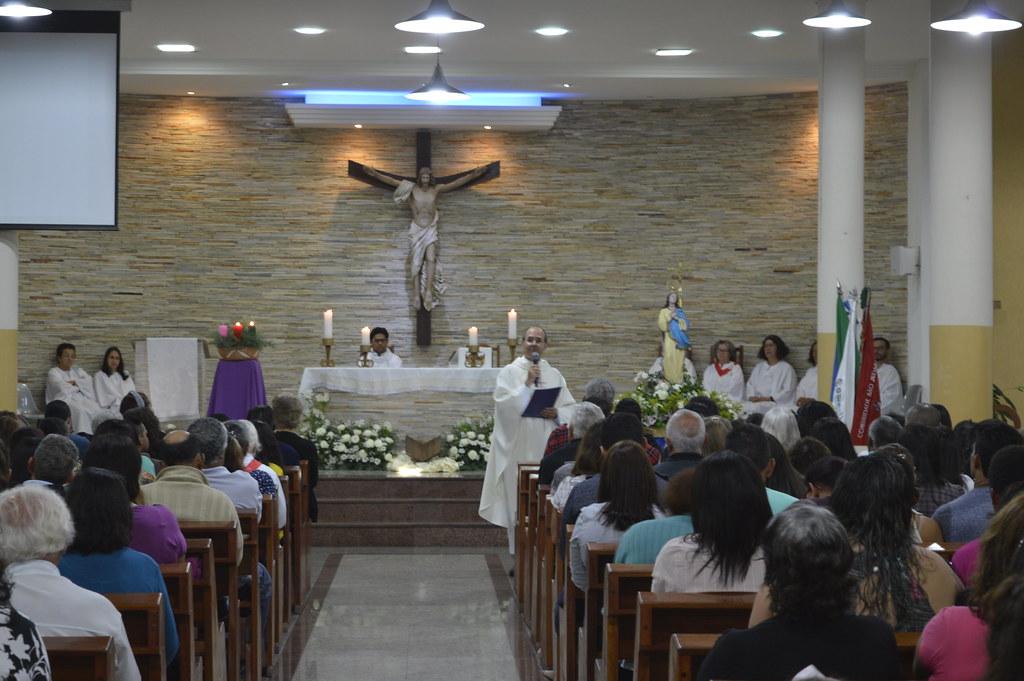 No Dia 08/12/2019 celebramos o dia de Nossa Senhora da Conceição com muita alegria e a participação especial do querido Pe. Carlos. A Missa foi em nível paroquial e contou com a presença mais que especial de todas as comunidades da paróquia. Curta algumas