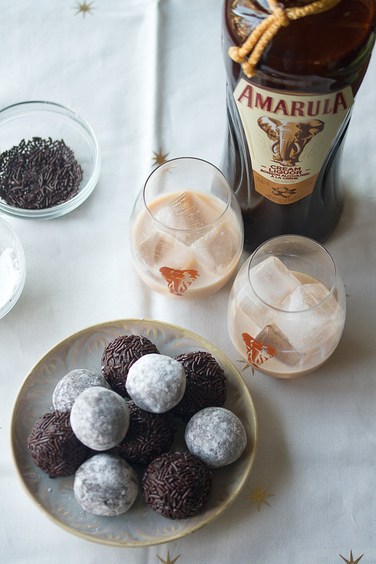 Dark Chocolate Amarula Balls