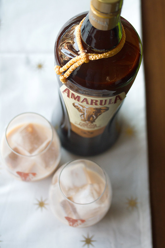 Bottle of Amarula Cream Liqueur
