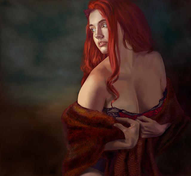 Venus in furs {painting}