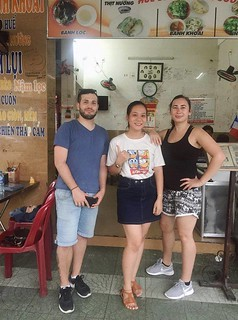 A lovely couple joined food tour with Taste of Hue | by vmcar.vmtravel
