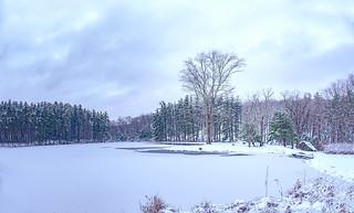 Frozen Seven Lake Drive - Harriman State Park, New York