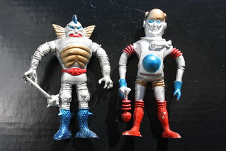 Colorforms Outer Space Men Knock-Offs
