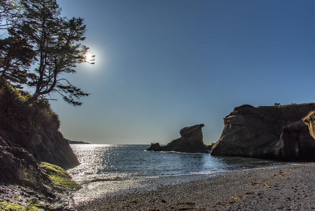 Depoe Bay on the Oregon Coast
