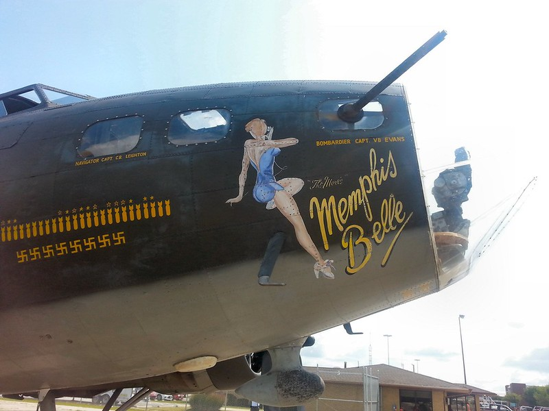 B-17F Flying Fortress Memphis Belle 14