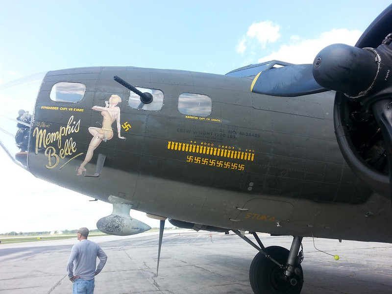 B-17F Flying Fortress Memphis Belle 4
