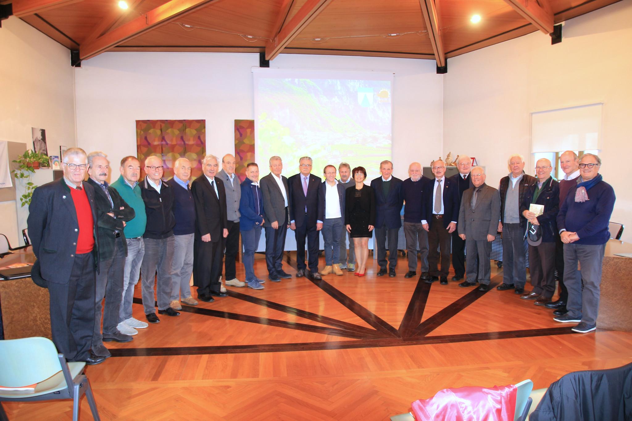 2019 - Incontro direttivi Sindaci Emeriti a Salorno (BZ)