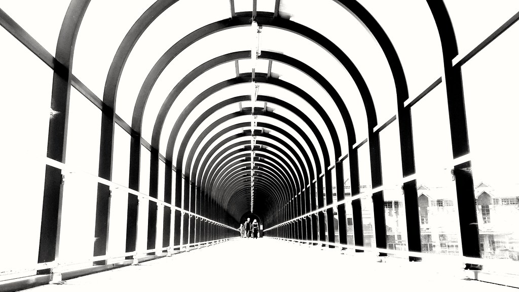 Underneath the Arches.....