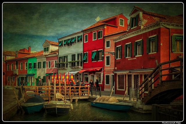 Benátská lagůna - ostrov Burano_Venetian Lagoon - the island of Burano