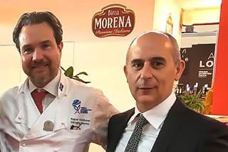 Ragnar Fridriksson di Worldchefs e Fabrizio Tarricone di Birra Morena (1)