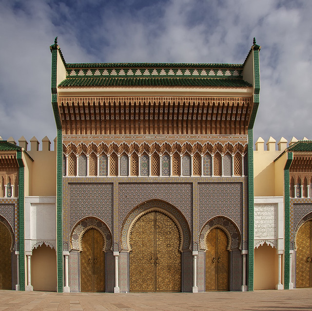 Doors of the royal palace