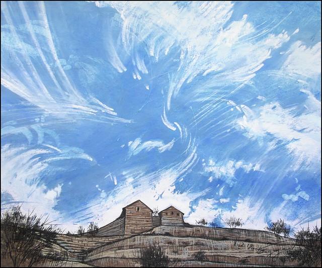 THE SKY ABOVE CHUFUT-KALE