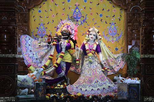 ISKCON Nidgi Deity Darshan 09 Dec 2019