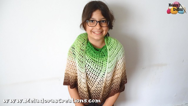 Emerald Isle Butterfly Shawl – Free Crochet Pattern 10