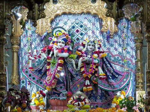 ISKCON Vallabh Vidyanagar Deity Darshan 09 Dec 2019